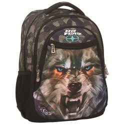 Backpack No Fear Wolf Army 48 CM - 2 Cpt