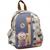 Elephant and Panda 30 CM Kindergarten Backpack - Cartable