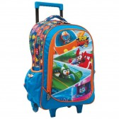 Mochila con ruedas Super Wings 43 CM - Trolley escolar