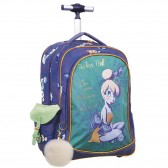 Glitter Tinker Bell 46 CM High-end wheeled backpack - binder