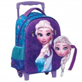 Maternal wheeled backpack The Snow Queen Anna 31 CM - Frozen Carat