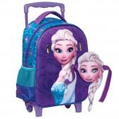 Maternal wheeled backpack The Snow Queen Anna 31 CM - Frozen Carat