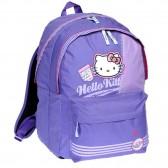Sac à dos Hello Kitty Violet 43 CM - Haut de gamme