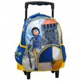 Sac à dos à roulettes trolley maternelle Playmobil Super 4 Alex 31 CM
