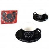Betty Boop Strass caffè servizio