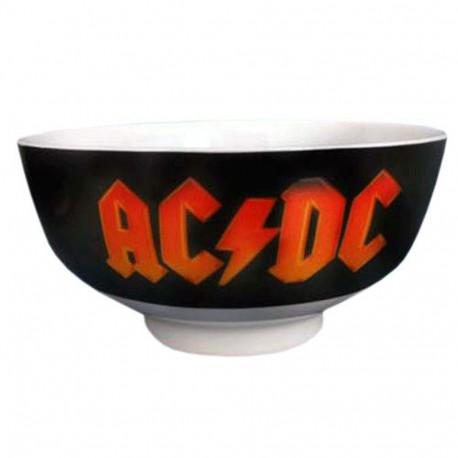 Bol ACDC Black in Black - Modèle : Logo rouge