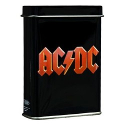 ACDC rood logo sigarettendoos