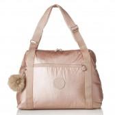 Kipling Little Pumpkin Metallic Blush 43 CM changing bag