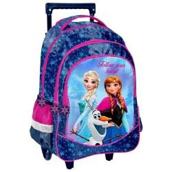 Snow Queen Wheeled Backpack Frozen 43 CM - Cartable