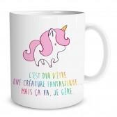 Mug Licorne Fantastique