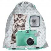 Gatto di borsa Studio animali domestici 45 CM piscina