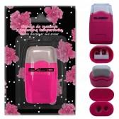 Dubbele roze potlood taille met met ingebouwde gum