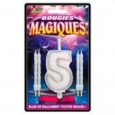 Figura de cumpleaños de las velas mágicas