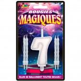 Figura di compleanno magica Candele