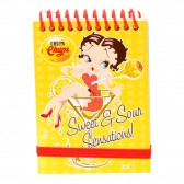 Betty Boop purple Notepad