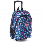 Sac à dos à roulettes Rip Curl Proschool Summer Time 46 CM - Trolley