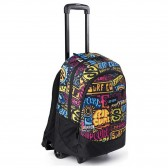 Rip Curl Proschool Flora Purple 46 CM - Trolley wheeled backpack