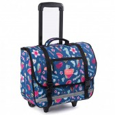 Rip Curl Toucan Flora Wheeley Satchel Navy 38 CM Wheel Bag