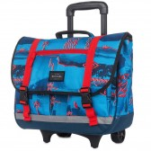 Backpack skateboard Rip Curl Brush Stokes Wheeley Satchel Blue 38 CM