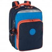 Sac à dos Kipling College Up Blue Orange Blue 42 CM