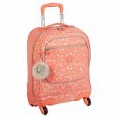 Patín de mochila Kipling LICIA cereza rosa Mix