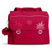 Satchel Kipling Iniko Cherry Pink Mix 40 CM