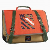Cartable IKKS Stranger Army Orange 38 CM