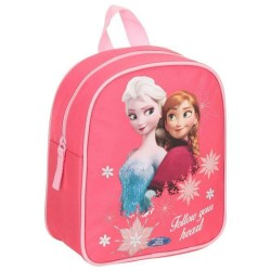Mochila escolar materna Frozen Rosa 25 CM