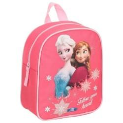 Sac à dos maternelle Frozen La reine des neiges 25 CM Rose