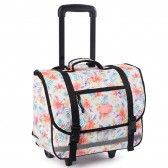 Backpack skateboard Rip Curl Desert Flower Wheeley Satchel White 38 CM