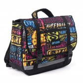 Rip Curl pequeño satchel cubierta azul 34 CM - Jardín de infantes