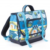 Cartable Rip Curl Small Satchel Surf Planet Blue 34 CM - maternelle