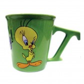 Titi 3D taza de cono verde
