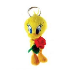 Porte clés peluche Titi Rose 13 CM