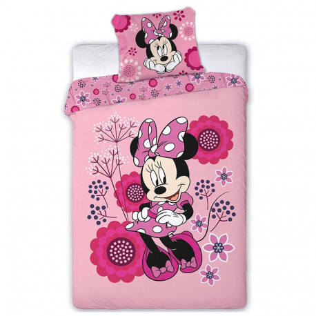 Minnie 140x200 cm duvet cover and pillow