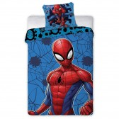 Spiderman 140x200 cm Dekbedovertrek en kussen