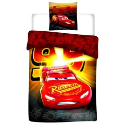 Cars 140x200 cm duvet cover and pillow