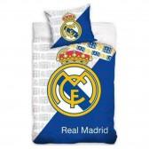 Parure housse de couette Real Madrid 140x200 cm et Taie d'oreiller