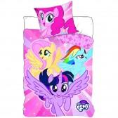 My Little Pony 140x200 cm copertura piumino e cuscino