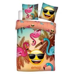 Emoji 140x200 cm duvet cover and pillow