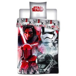 Parure housse de couette Star Wars 140x200 cm et Taie d'oreiller