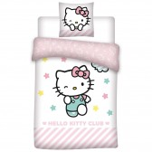 Hello Kitty 140x200 cm duvet cover and pillow