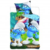 The Smurfs 140x200 cm and Pillow