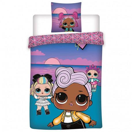 LOL Surprise 140x200 cm duvet cover and pillow