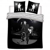 Johnny Hallyday 240x220 cm Dekbedovertrek en kussen