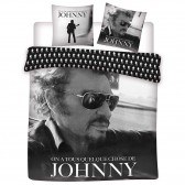 Johnny Hallyday 240x220 cm duvet cover and pillow