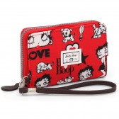 Portefeuille Betty Boop Rouge 16 CM