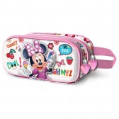 Trousse Minnie Sweet 3D 22 CM - 2 Cpt