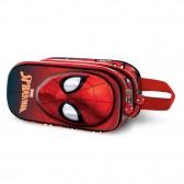 Trousse Spiderman 3D 22 CM - 2 Cpt
