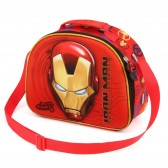 Iron Man 3D 26 CM taste bag - borsa per il pranzo